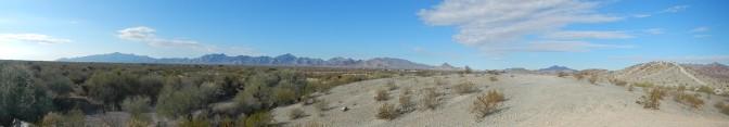 A trek in the desert with friends