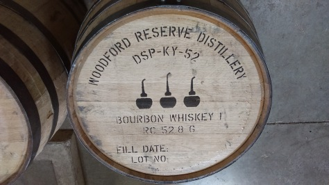 Remember that whiskey has to be aged to make bourbon.  So the date it went into the barrel is very important.
