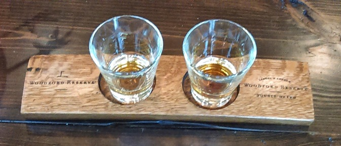 On to the Woodford Reserve…. Distillery that is.
