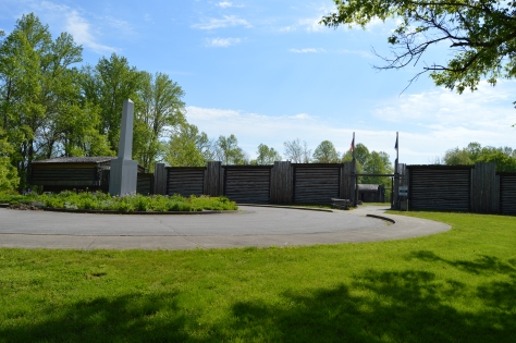 The entrance to Fort Bonnesboro