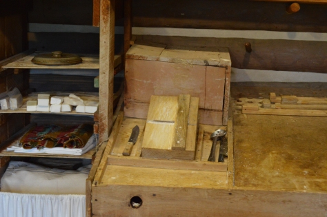 Some of the tools of soapmaking.