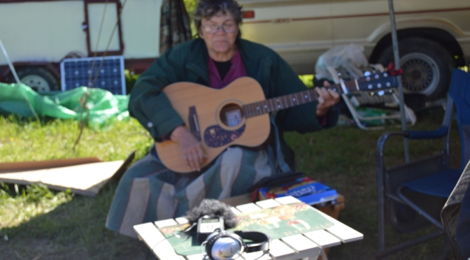 Gypsy Jane sings us original songs