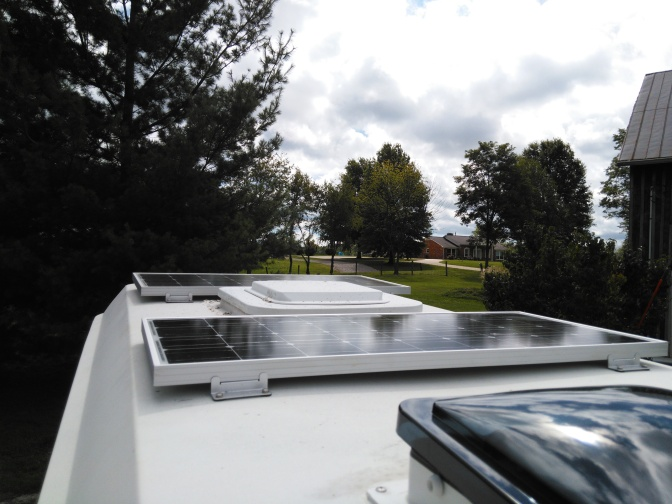 Upgrading Solar on the Vome