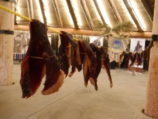 drying beef